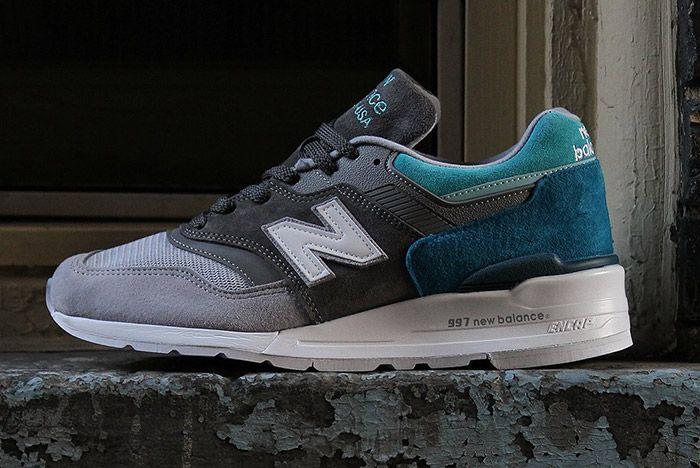 New Balance 997 Grey Blue Spectrum 1