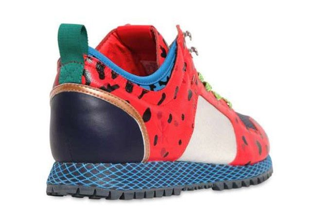 Adidas Opening Ceremony New York Red Leopard Heel 1