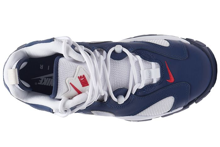 Nike Air Barrage Low Navy White Red Cn0060 400 Release Date 4 On White 4