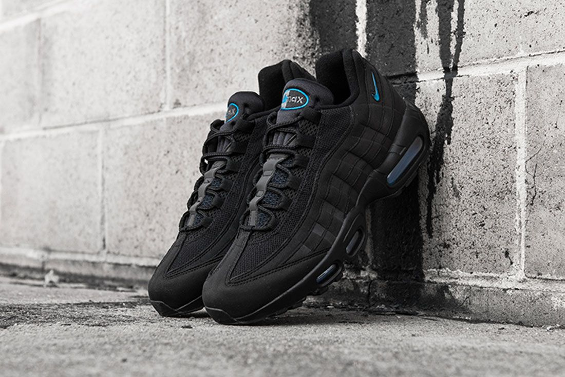 Nike Air Max 95 Imperial Blue Concrete Left