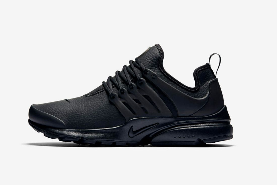 Nike Air Presto Premium Womens Beautiful Powerful Black 4