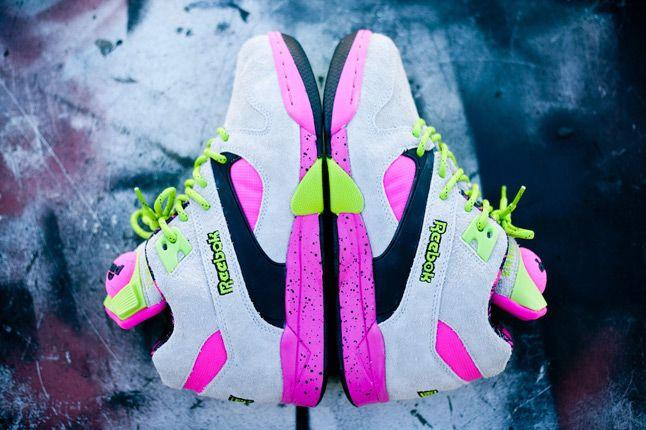 Reebok Omni Lite Pump Grey Feature Sneaker Boutique Pair 1