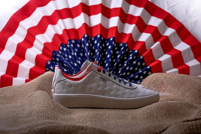 Puma Basket Independence Day Pack White 5
