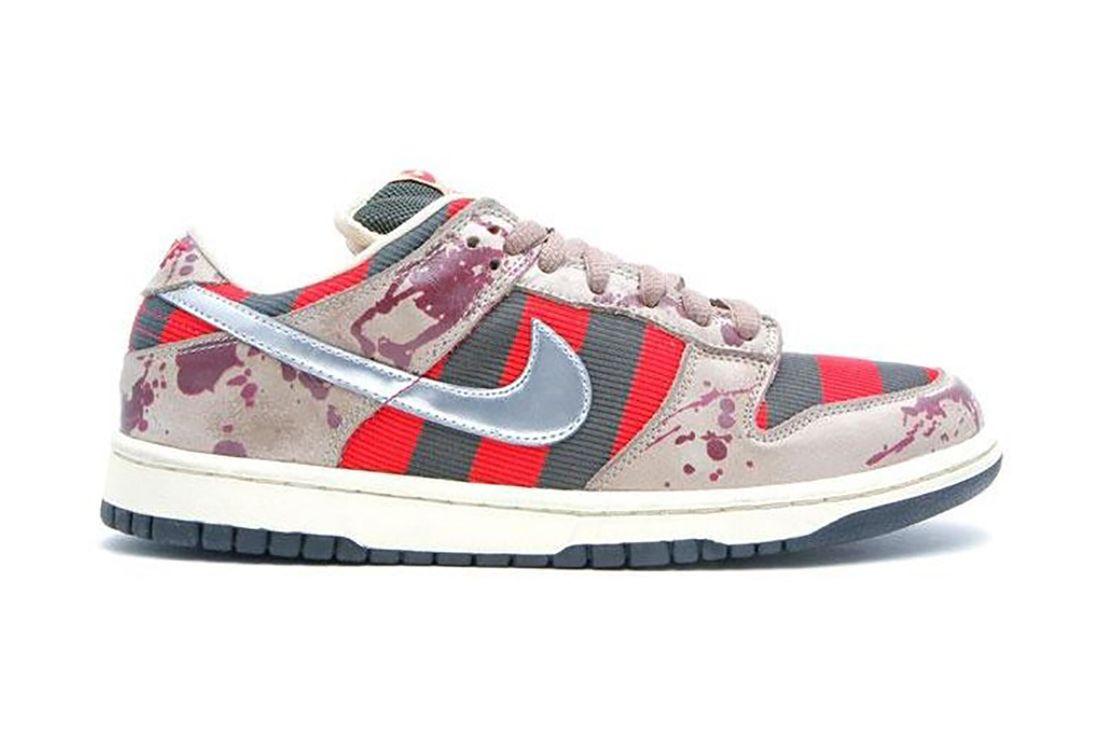 Nike Sb Dunk Low Freddy Krueger 313170 202 Lateral