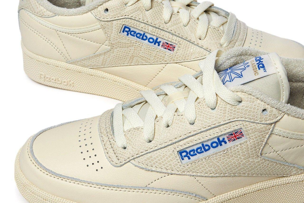 awake ny x reebok club c 85 on white