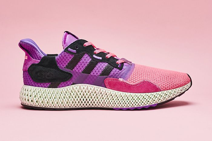 Sneakersnstuff Adidas Consortium 20Th Anniversary Zx 4000 4D Sunset Release Date Lateral