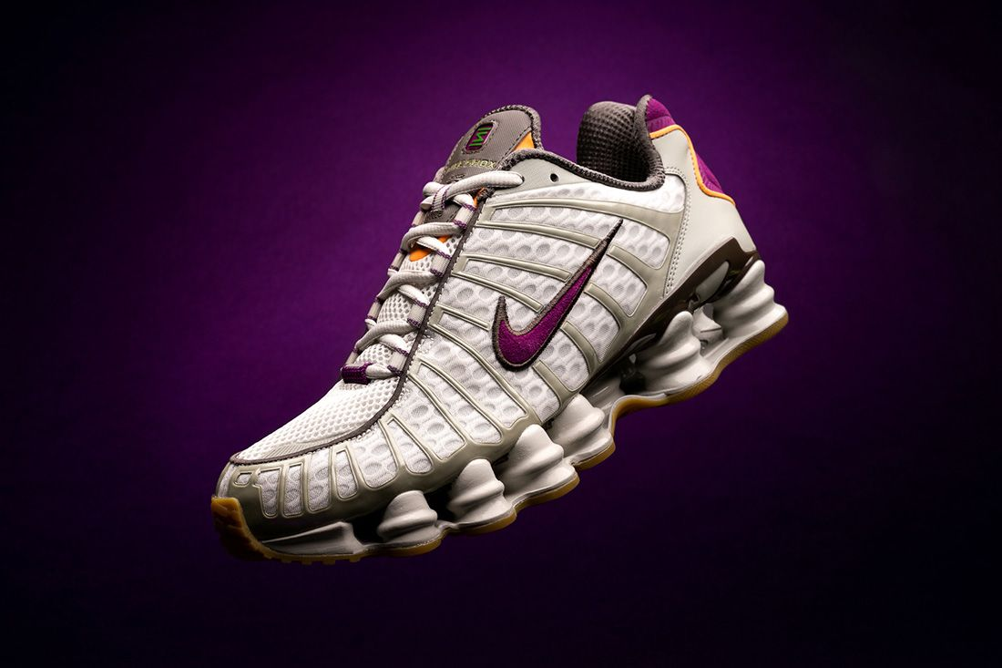 Hero Size Shox Tl Viotech Nike Colourway Corral Feature