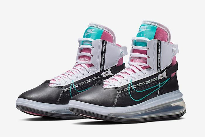 Nike Air Max 720 Saturn Miami Vice Ao2110 002 Front Angle Shot 1