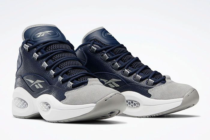 Reebok Question Mid Georgetown Fx0987 Front Angle