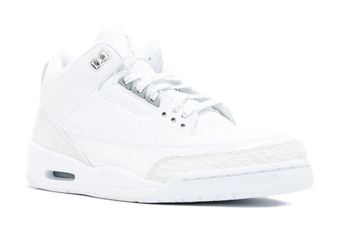 Air Jordan 3 Silver Anniversary Triple White Sneaker Freaker 3