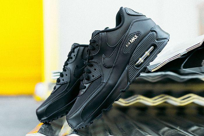 Nike Air Max 90 Black Gold Sneaker Freaker 7