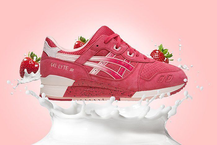Asics Gel Lyte Iii Strawberries And Cream Valentines 2