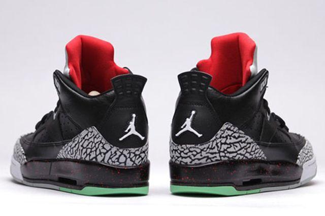 Air Jordan Son Of Low Bg University Red Black Black Unvrstyrd Grymst 15