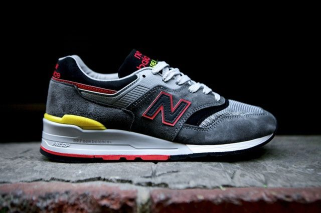 New Balance 997 Made Usa Dark Grey 11