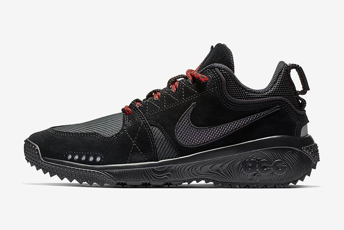 Nike Acg Dog Mountain Black Red 2