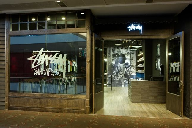 Stussy Singapore Tribe Store Front Door 1