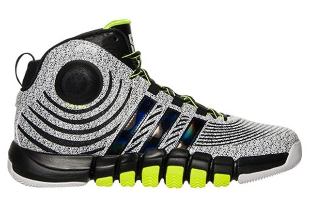 Adidas D Howard 4 White Black Electricity 3