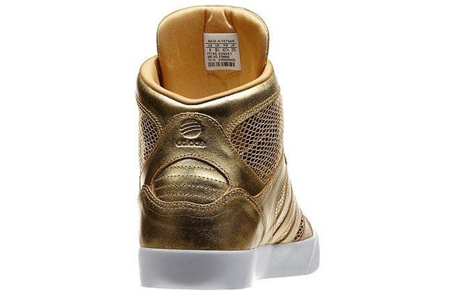 Addias Neo Gold Shoes Back 1