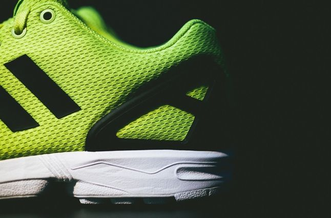 Adidas Zx Flux Electric Yellow 5