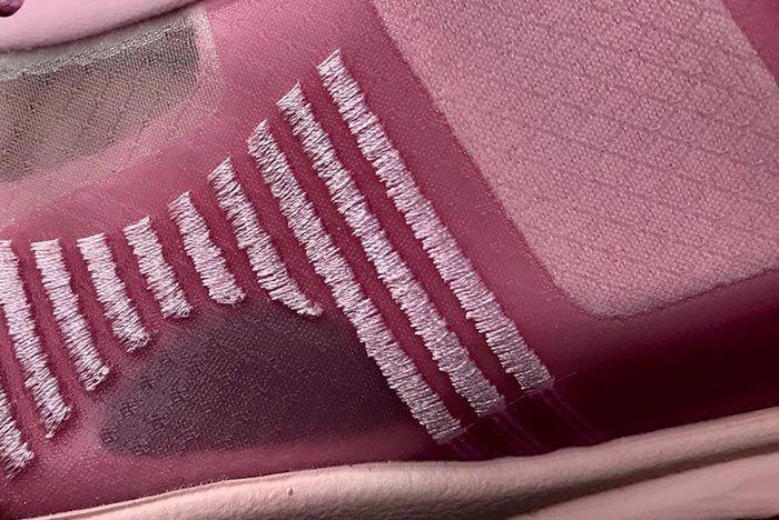 John Elliot Lebron Icon Tulip Pink Detail Shot