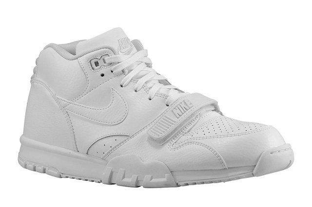 Nike Air Trainer 1 All White 2