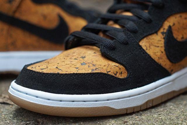 Nike Sb Dunk High Custom By Jbf Customs Cork 5