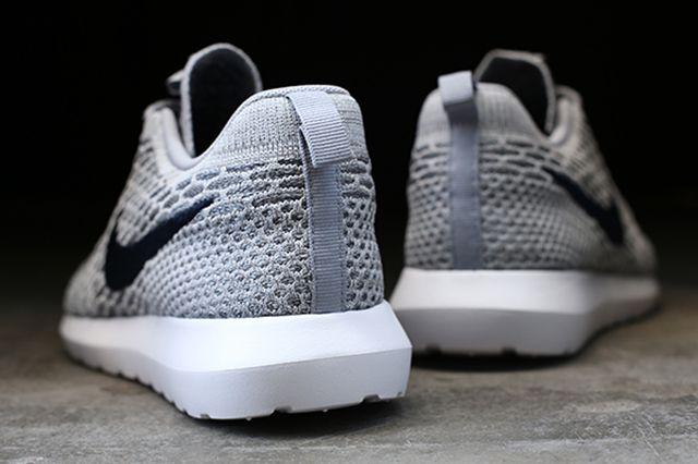 Nike Flyknit Roshe Run Grey 2