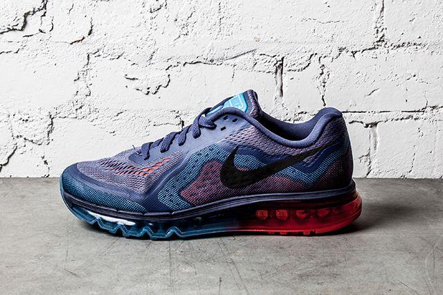 Nike Air Max 2014 Blue Recall Light Crimson 1