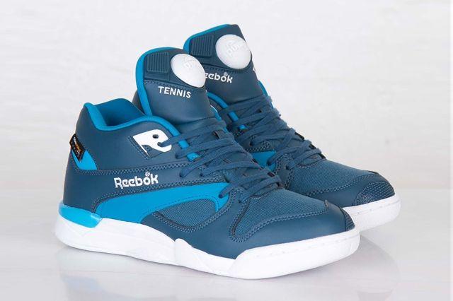 Reebok Court Victory Pump Cordura Bomb Blue 1