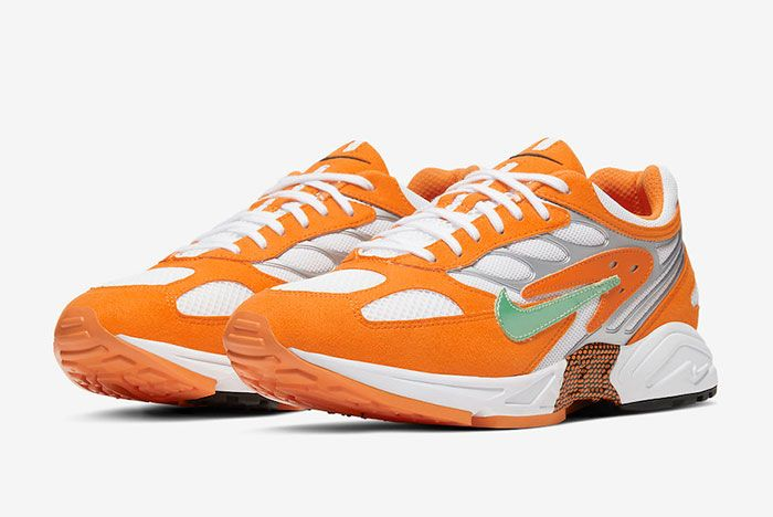 Nike Air Ghost Racer Orange Peel At5410 800 Front Angle