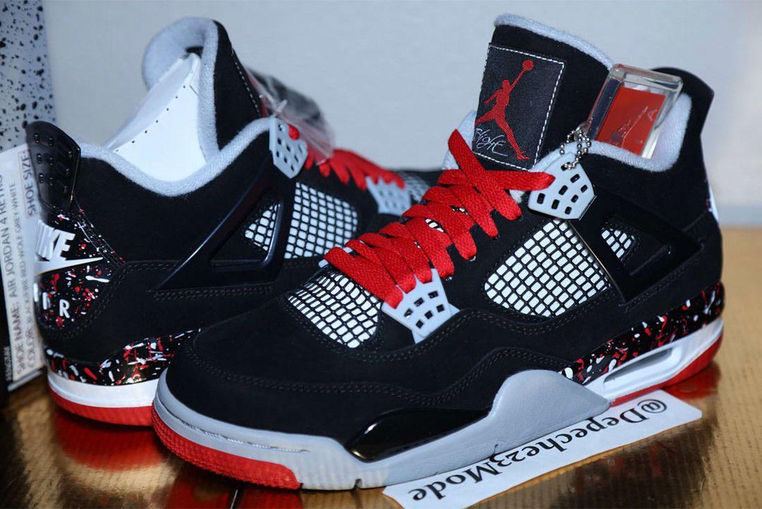 Drake Ovo Air Jordan 4 Splatter 4