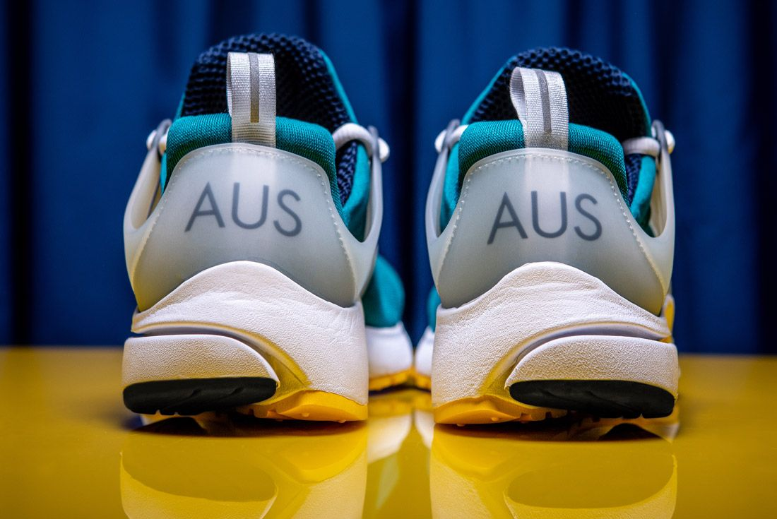 2020 Nike Air Presto Australia Olympic Retro Heel