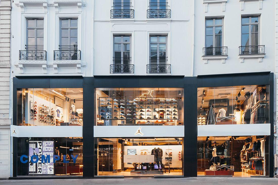 Jordan Brand Opens Incredible Pinnacle Store In Paris4
