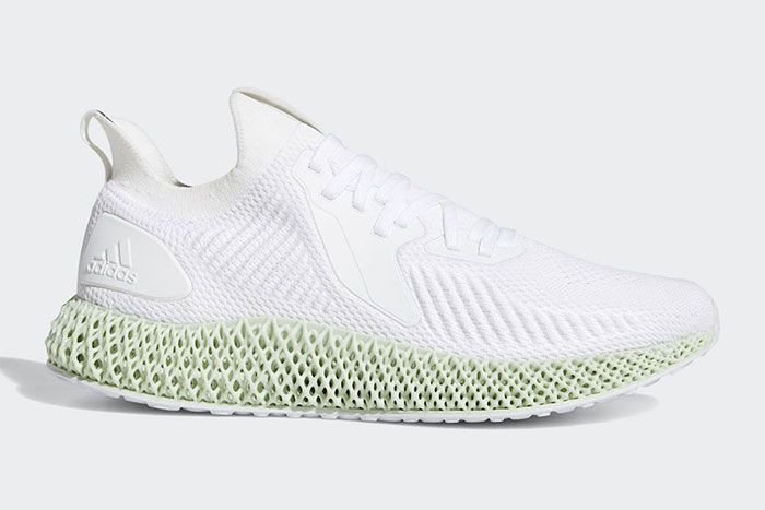 Adidas Alphaedge 4 D White Right