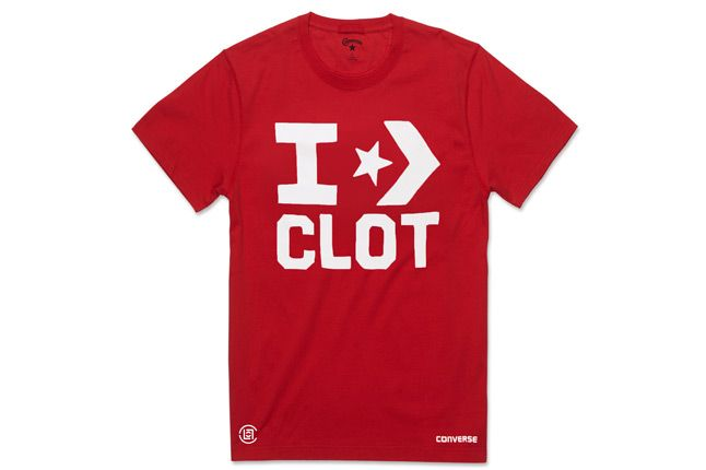 Clot Converse Red Tee 1