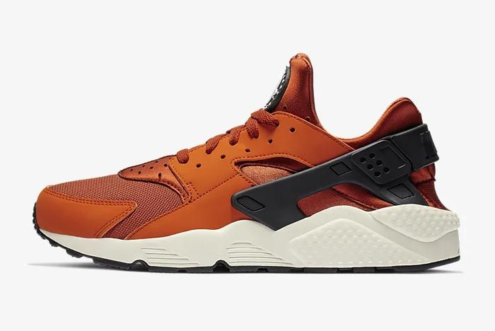 Nike Air Huarache Campfire Orange Lateral