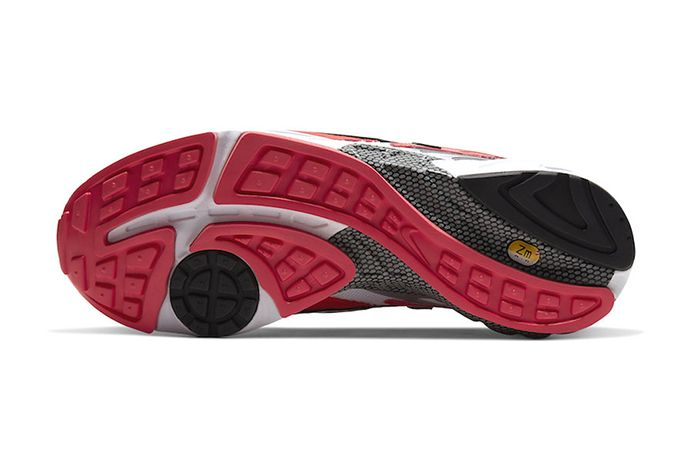 Nike Air Ghost Racer Track Red At5410 601 Release Date Outsole