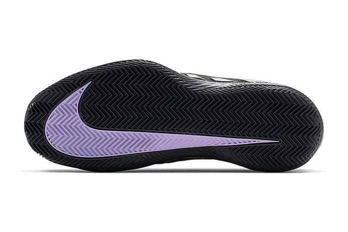 Nike Air Zoom Vapor X Glove Black Purple Bq9663 001 Release Date Outsole