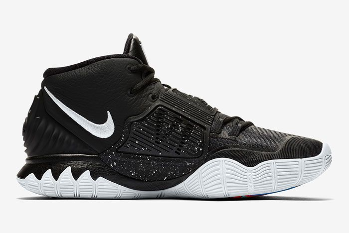Nike Kyrie 6 Black Bq4630 001 Release Info 5 Side