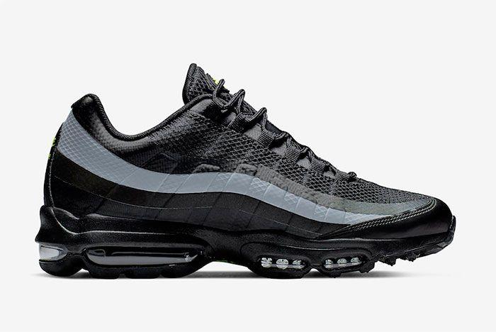 Nike Air Max 95 Ultra Black Grey Volt Right