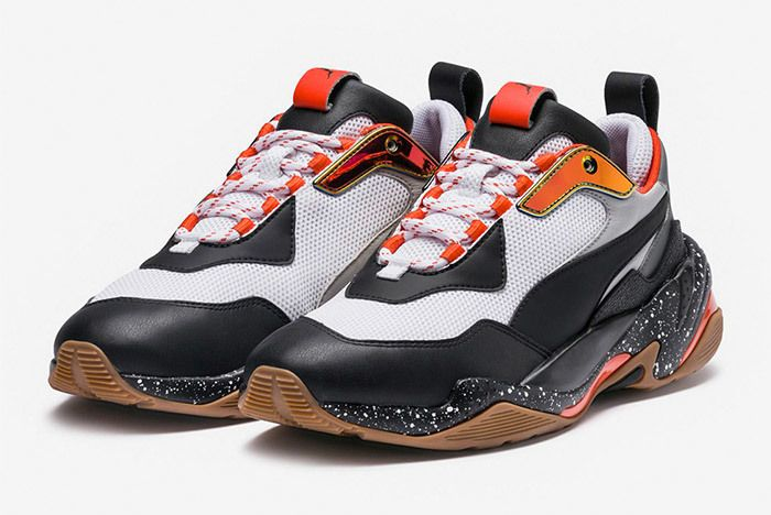 Puma Thunder Electric Black Orange 367996 01 1