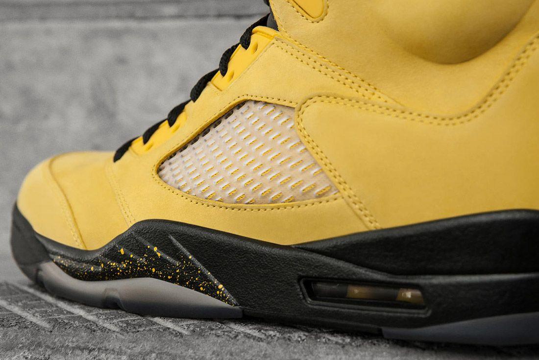 Air Jordan 5 Fab Five Yellow Black 2