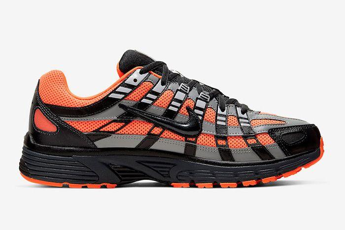 Nike P 6000 Total Orange Right