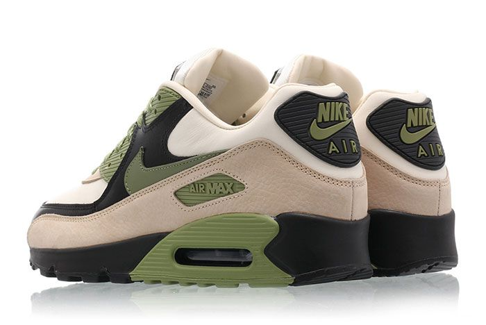 Nike Air Max 90 Escape Lahar Olive Heel