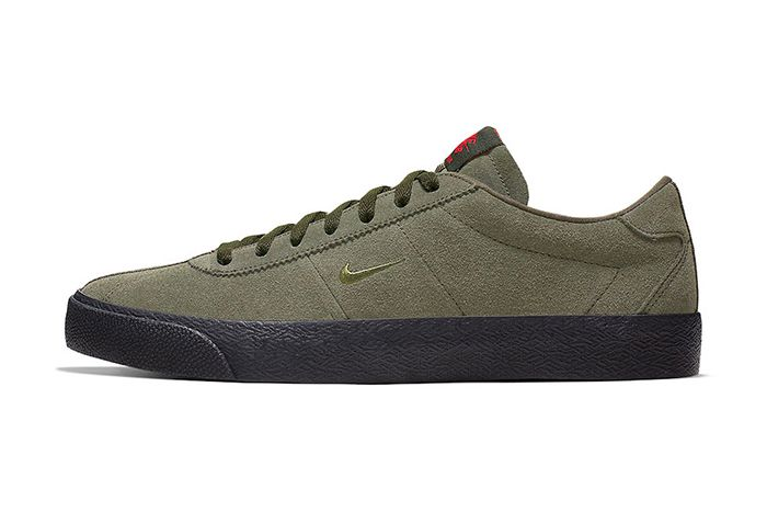 Ishod Wair Nike Sb Bruin Iso Olive Cn8827 300 Release Date Lateral
