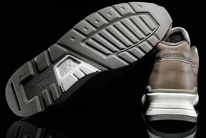 Horween Leather X New Balance 997 Beigegrey 3