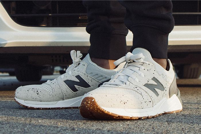 New Balance 009 Speckle Suede2