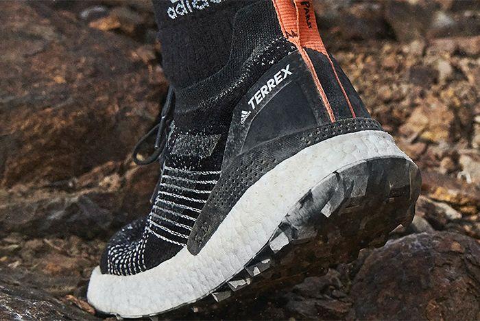 Parley Adidas Terrex Two Ultra Trail Runner Heel