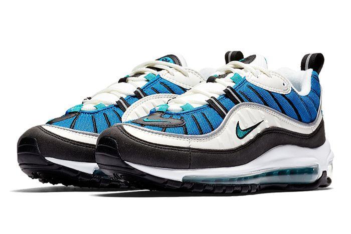 Nike Air Max 98 Blue 8