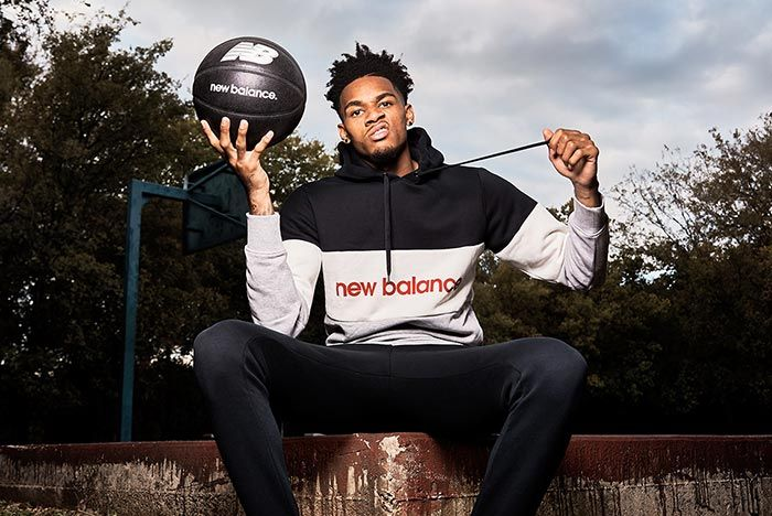 Dejounte Murray Joins New Balance Holding Basketball